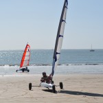 Wind in my sails – sand-yachting at Ile de Ré!