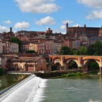 The view from my hotel:  Albi, Tarn, Midi-Pyrenees