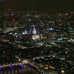 The View From The Shard at Night