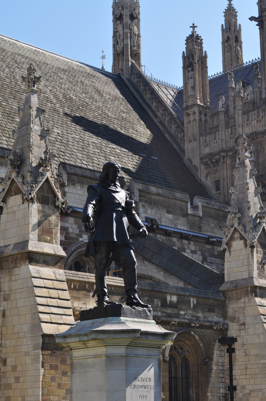 Oliver Cromwell by Sue Lowry