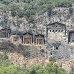 In the Frame:  Dalyan Rock Tombs