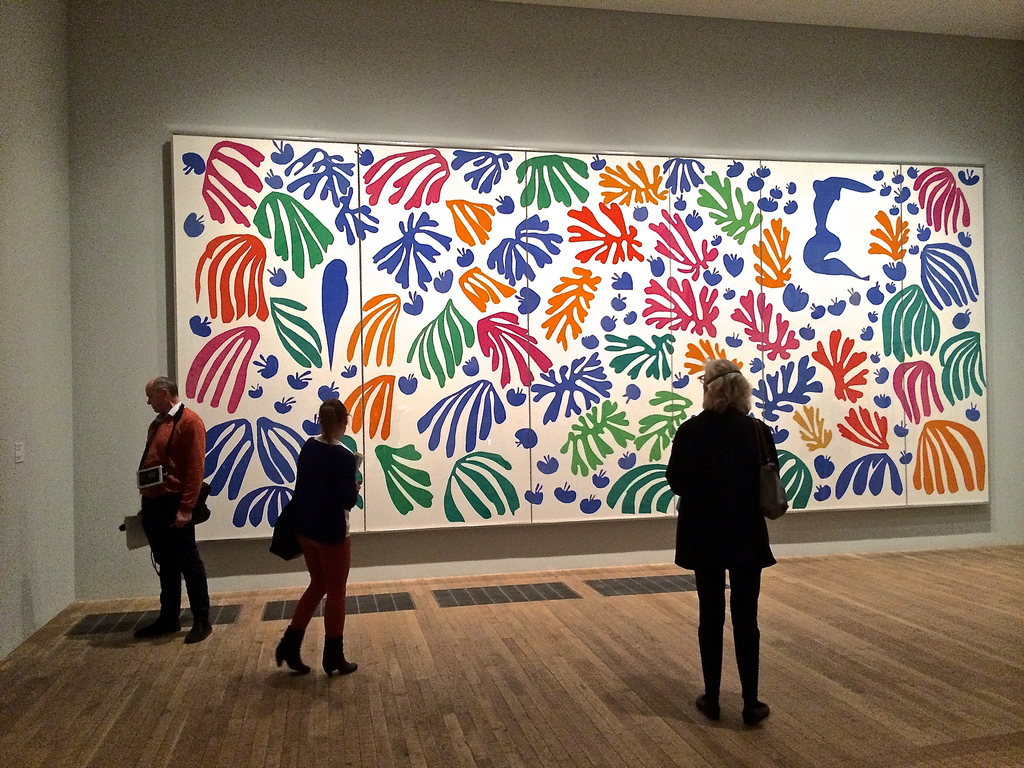 Matisse: Drawing with Scissors | visual culture wales