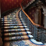 In the Frame:  The staircase of St Pancras Renaissance London Hotel