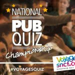 On your marks, get ready for … the first ever National Pub Quiz Challenge sponsored by Voyages-sncf.com