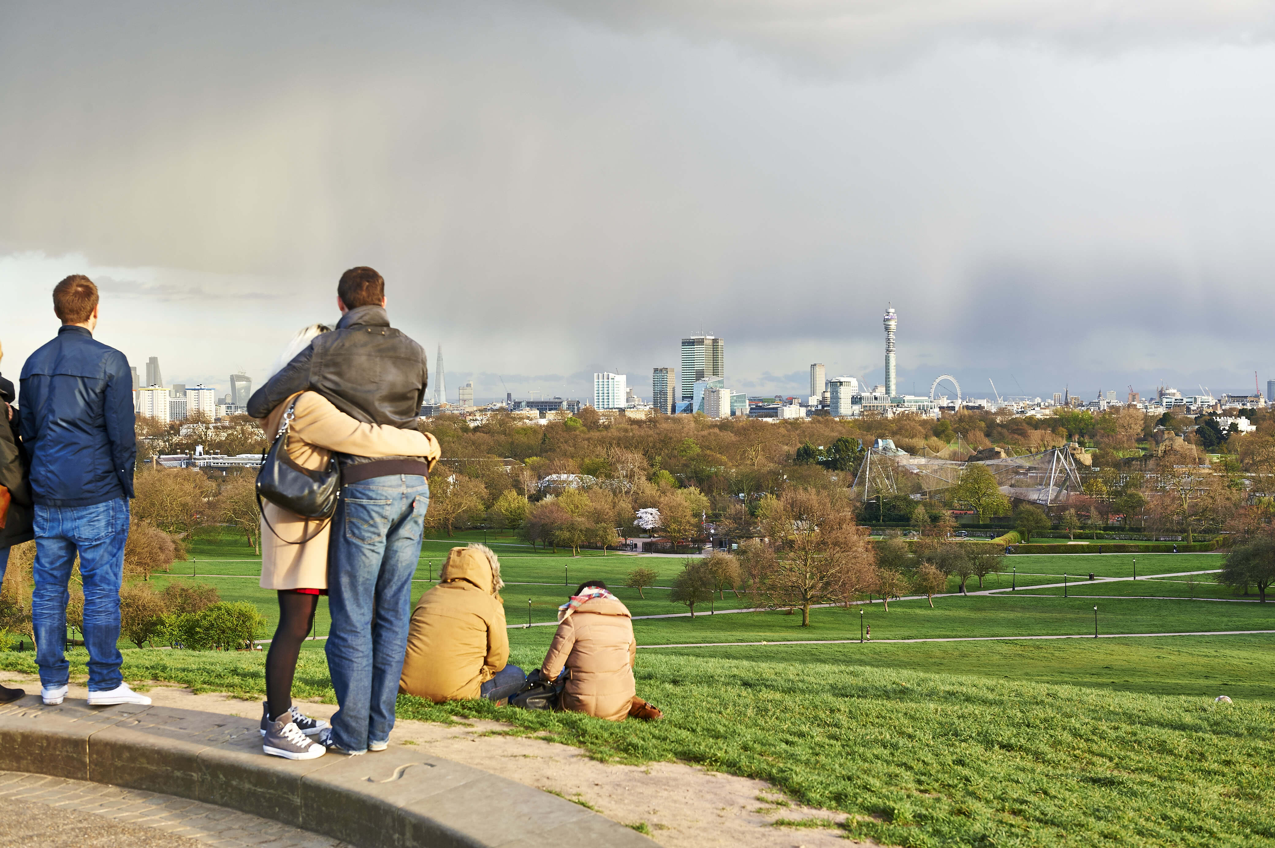 Park Life - View of London SkyLine from Primrose Hill - Greywolf @ The Royal Parks