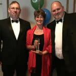 AFerryfreight Celebrate Customer Service Victory at the Freight Industry Times Supply Chain Champion Awards 2016