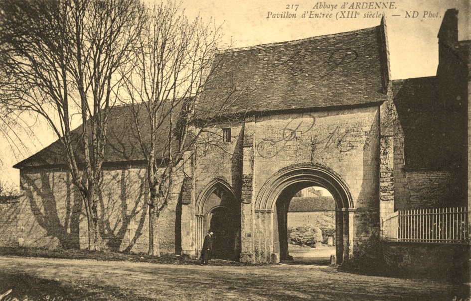 The Abbey Ardenne postcard that revealled a terrible history