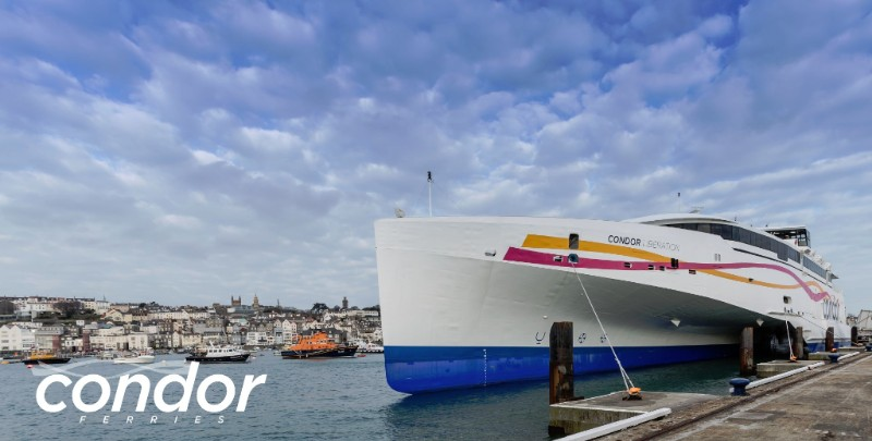 AFerry - Guernsey - Images courtesy of Condor Ferries