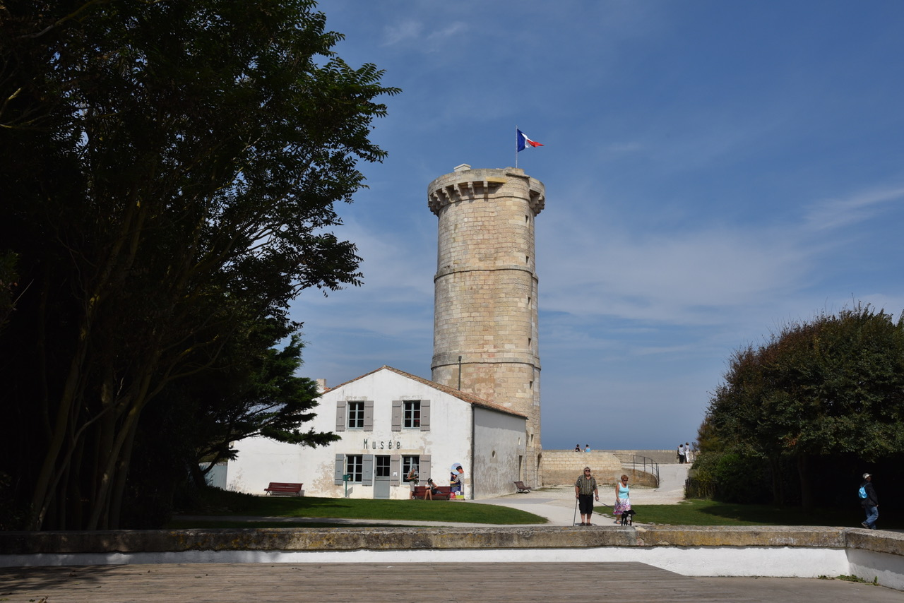 Ile de Ré, Charentes area of Southwestern France by Sue Lowry - Phare des Baleines